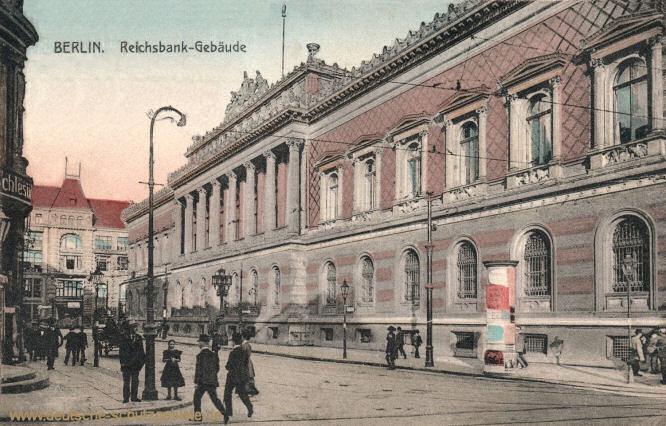 Berlin, Reichsbankgebäude