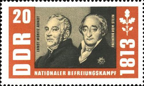 Ernst Moritz Arndt und Freiherr vom Stein