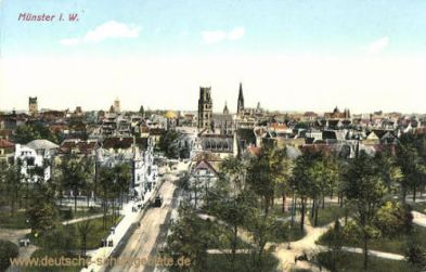Münster i. W., Stadtansicht
