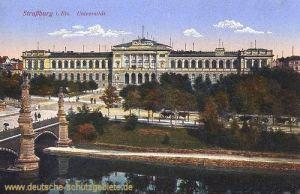 Straßburg i. Els., Universität