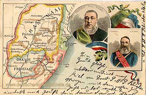 Transvaal und den Oranje-Freistaat, Präsident Paul Krüger und General Joubert