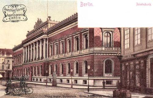 Berlin, Reichsbank