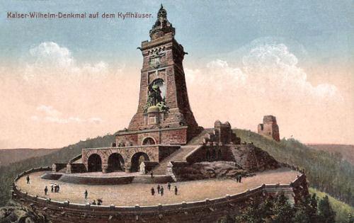 Kaiser Wilhelm-Denkmal auf dem Kyffhäuser