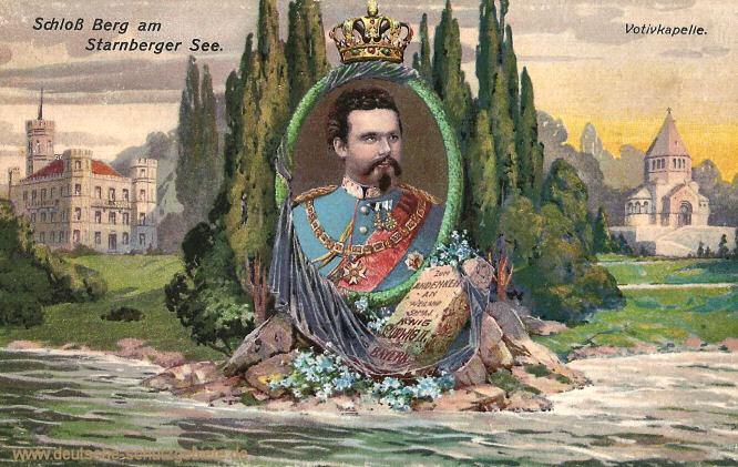 König Ludwig II., Schloss Berg am Starnberger See, Votivkapelle