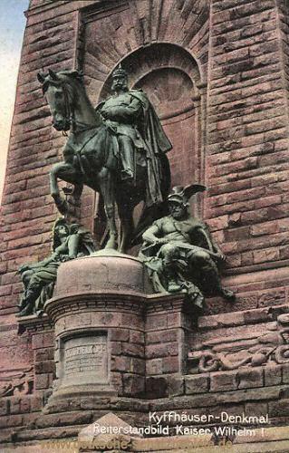 Kyffhäuser-Denkmal, Reiterstandbild Kaiser Wilhelm I.