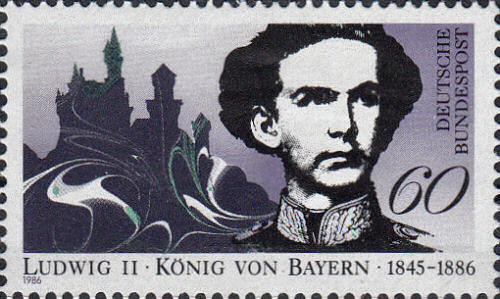 König Ludwig II. - Briefmarke