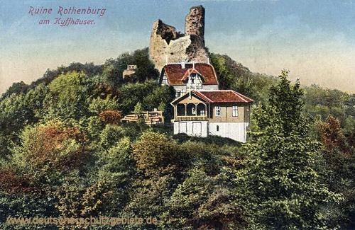 Ruine Rothenburg am Kyffhäuser