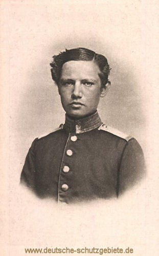 Hindenburg als Kadetten-Selektaner Berlin 1865