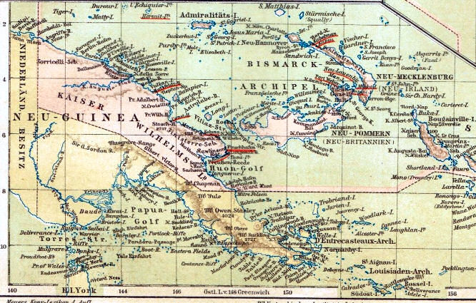 Neu-Guinea, Kaiser Wilhelms-Land