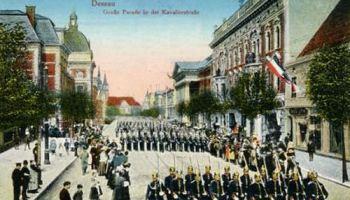 Dessau, Große Parade in der Kavalierstraße
