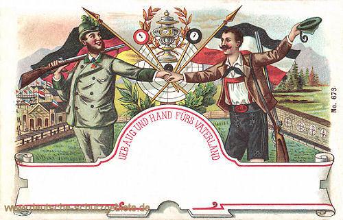 Üb Aug und Hand fürs Vaterland