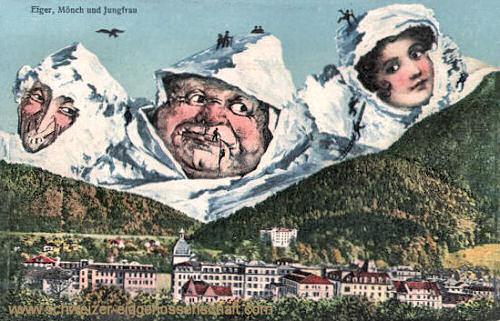 Bern, Eiger, Mönch und Jungfrau