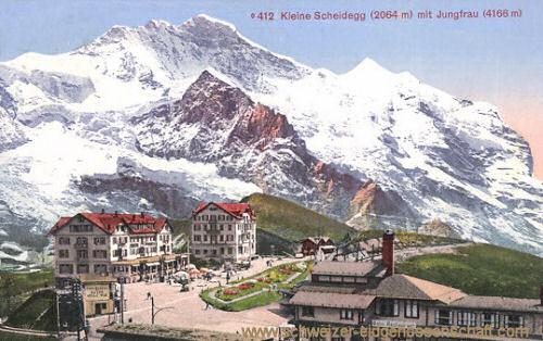 Kleine Scheidegg mit Jungfrau