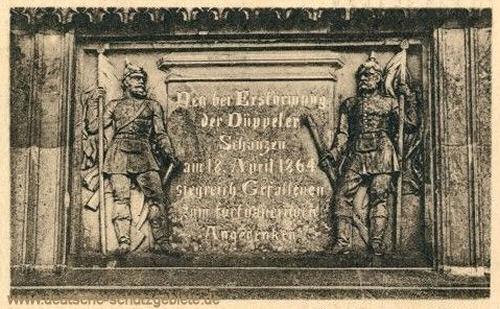 Düppeldenkmal, Relief 1