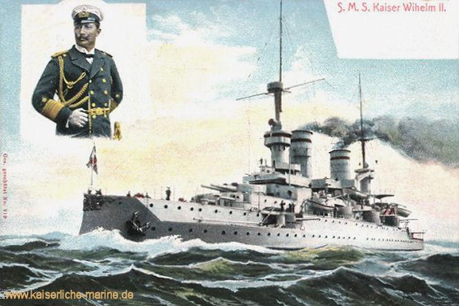 S.M.S. Kaiser Wilhelm II., Linienschiff