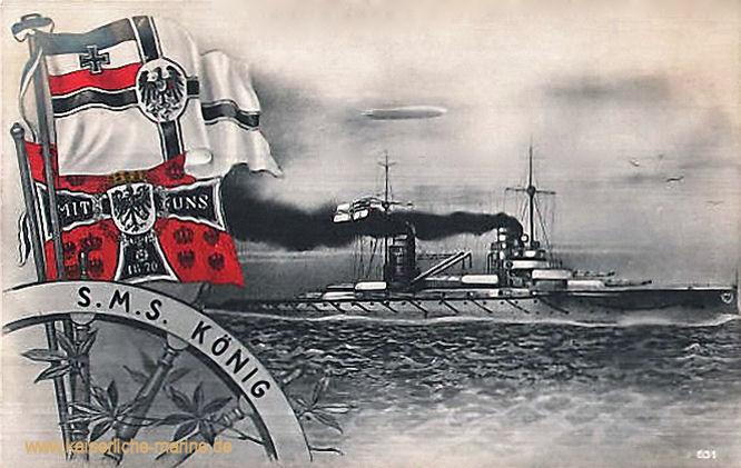 S.M.S. König, Linienschiff