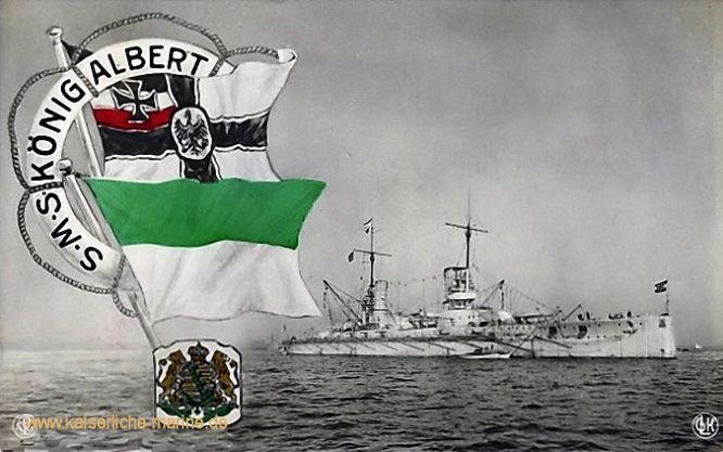S.M.S. König Albert, Linienschiff
