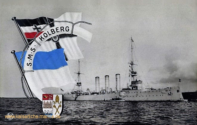 S.M.S. Kolberg, Kleiner Kreuzer