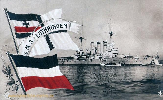 S.M.S. Lothringen, Linienschiff
