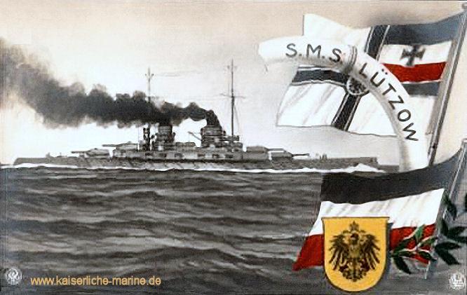 S.M.S. Lützow, Großer Kreuzer