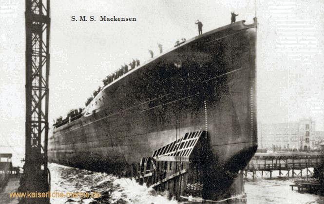 S.M.S. Mackensen, Großer Kreuzer