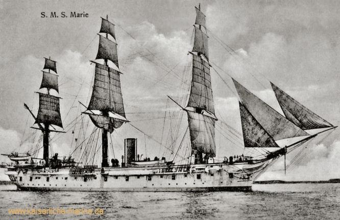 S.M.S. Marie, Korvette