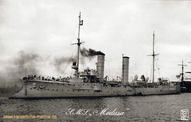 S.M.S. Medusa, Kleiner Kreuzer