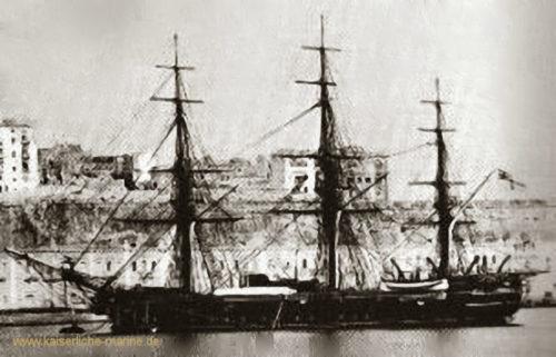 S.M.S. Nymphe, Korvette