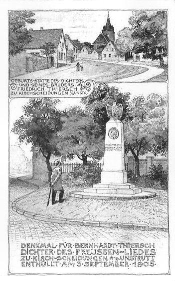 Denkmal und Geburtshaus Thierschs