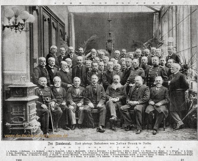 Der Bundesrat 1900