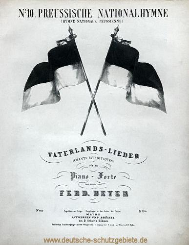 Preußische Nationalhymne