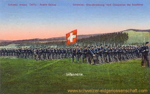 Schweizer Bundesheer, Infanterie