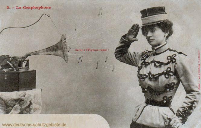 Le Graphophone, Salut à l'Hymne russe!