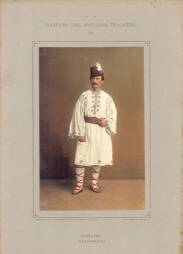 Trachten Ungarn (Karansebes)