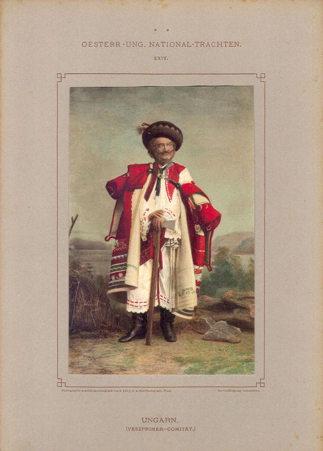 Trachten Ungarn (Veszprimer-Comitat)