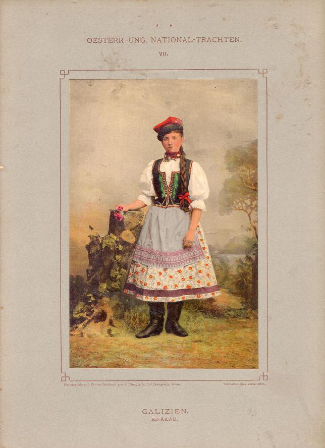 Trachten Galizien (Krakau)