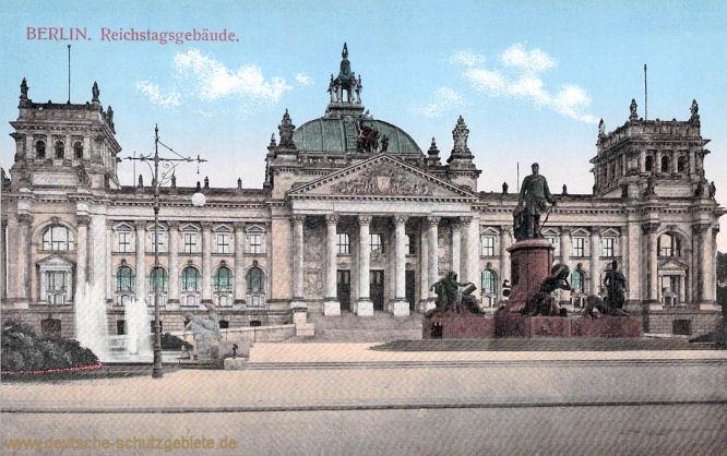 Berlin, Reichstagsgebäude
