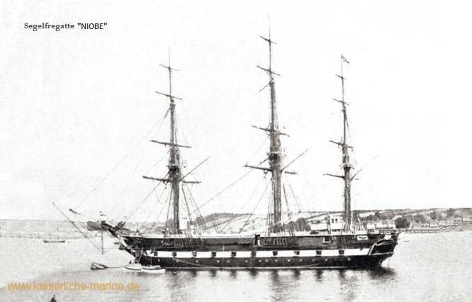 S.M.S. Niobe, Segelfregatte