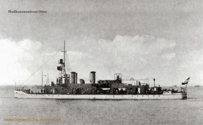 S.M.S. Otter, Flusskanonenboot