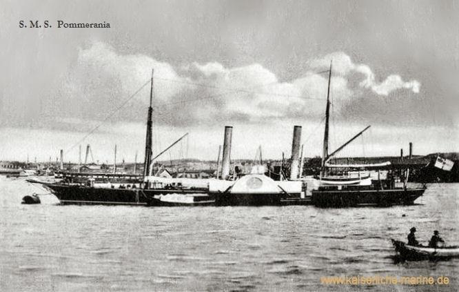 S.M.S. Pommerania, Aviso
