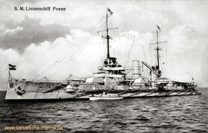 S.M.S. Posen, Linienschiff