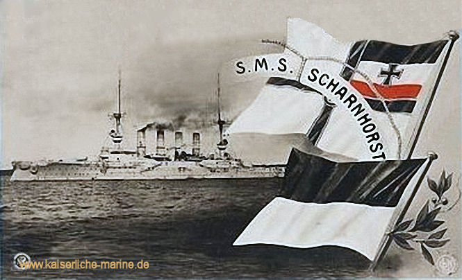 S.M.S. Scharnhorst, Großer Kreuzer