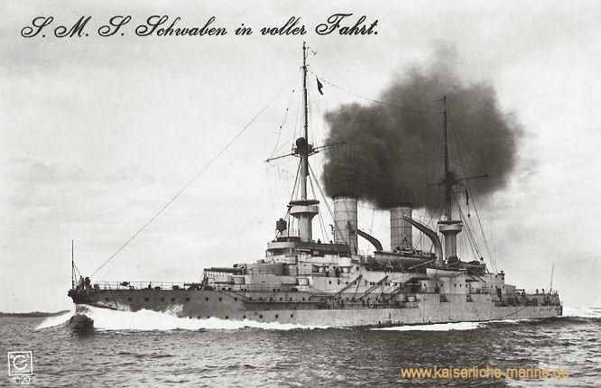S.M.S. Schwaben, Linienschiff