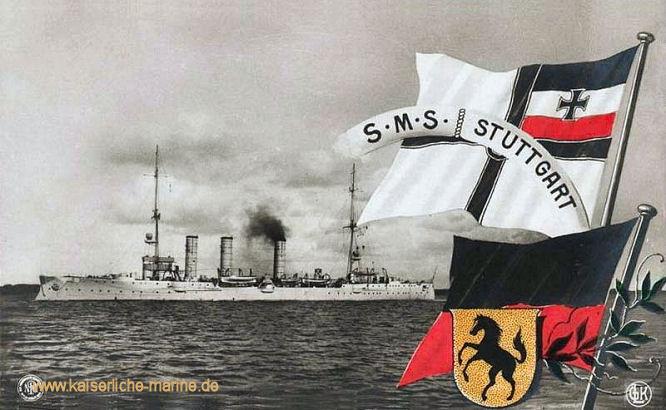 S.M.S. Stuttgart, Kleiner Kreuzer