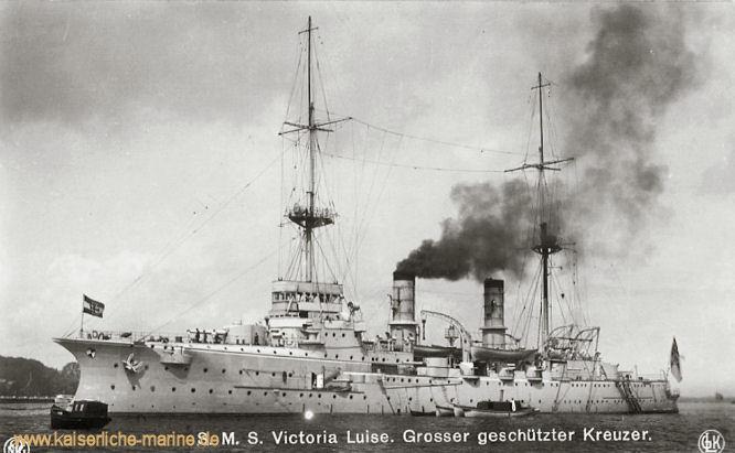 S.M.S. Victoria Louise, Großer Kreuzer