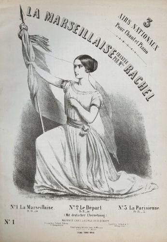 La Marseillaise, Notenheft
