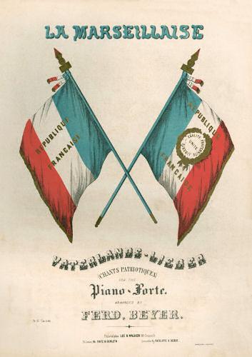 La Marseillaise - Vaterlands-Lieder Cover