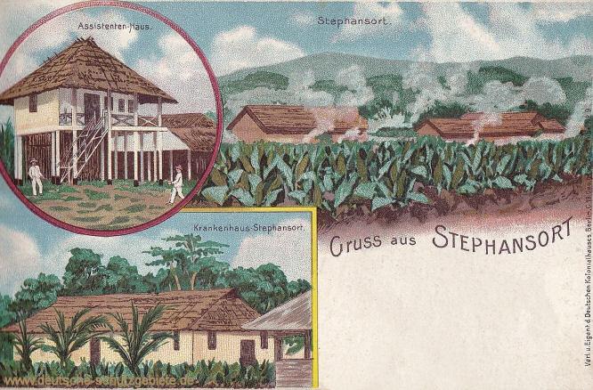 Deutsch-Neuguinea, Stephansort, Assistenten-Haus, Krankenhaus Stephansort
