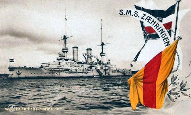 S.M.S. Zähringen, Linienschiff