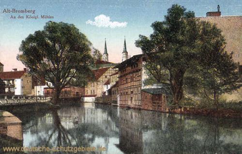 Alt-Bromberg, An den Königlichen Mühlen